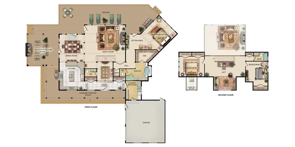 Viceroy Pasadena Floorplan