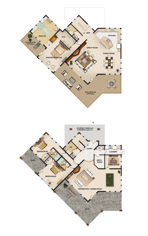 The Westview Floorplan