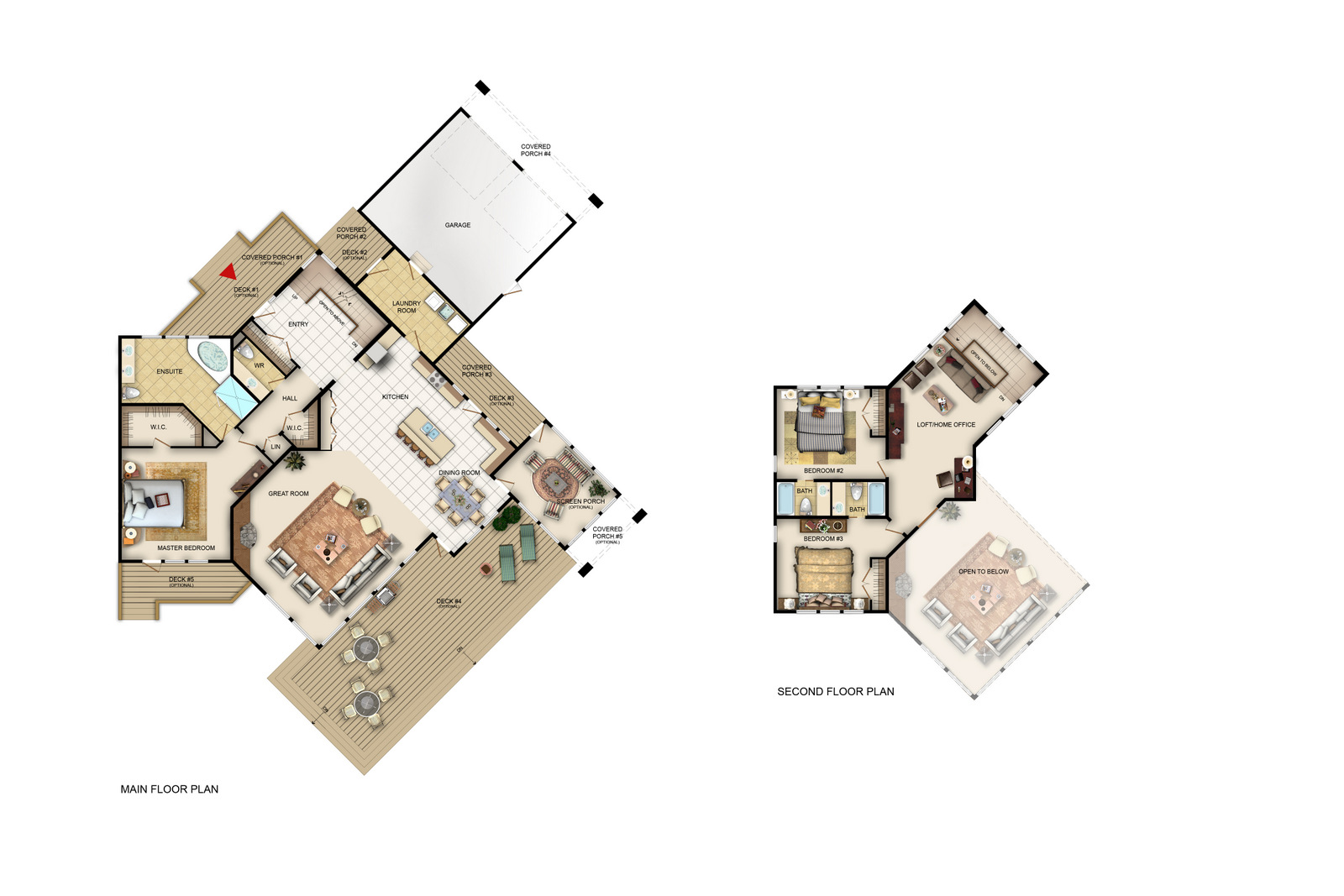 The Rainier Floorplan