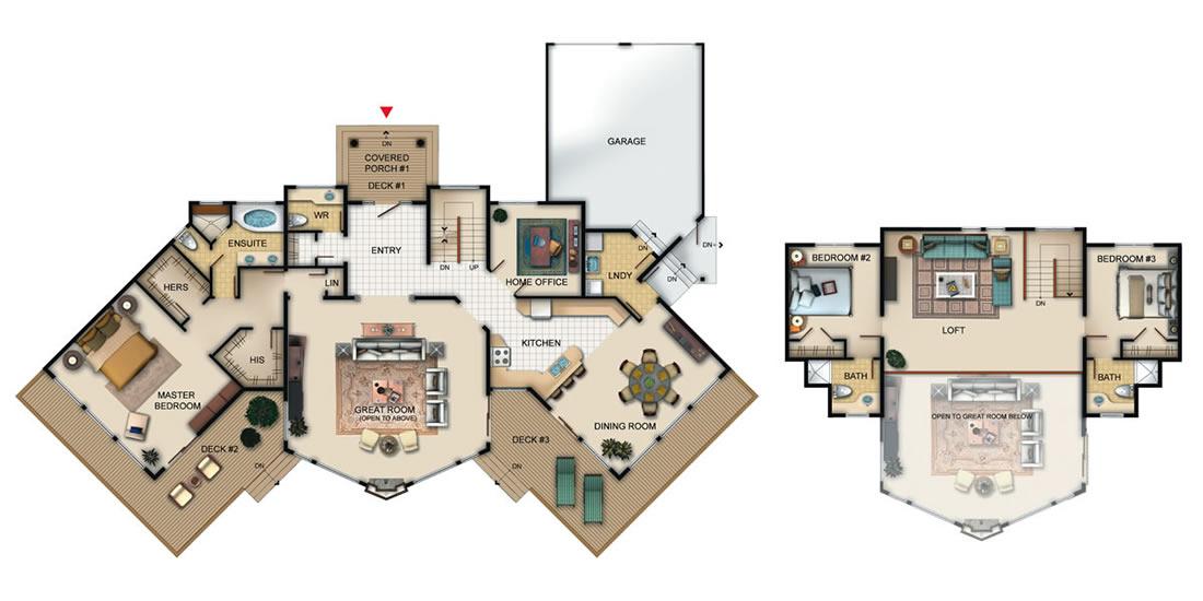 The Carlyle Floorplan
