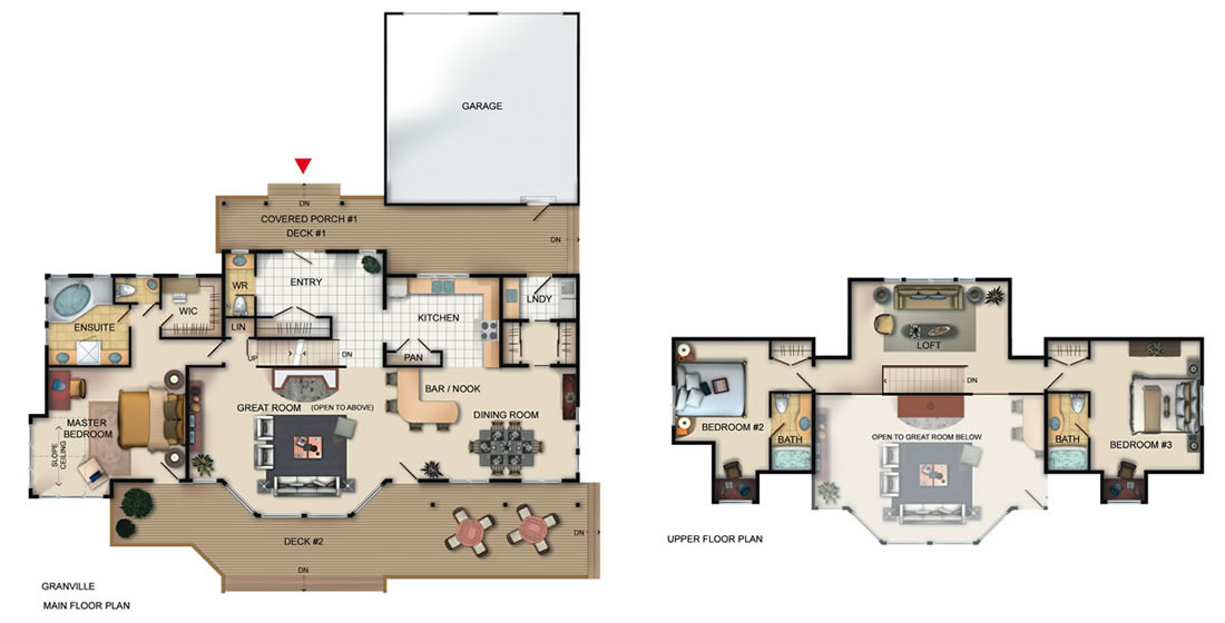 The Granville floorplan