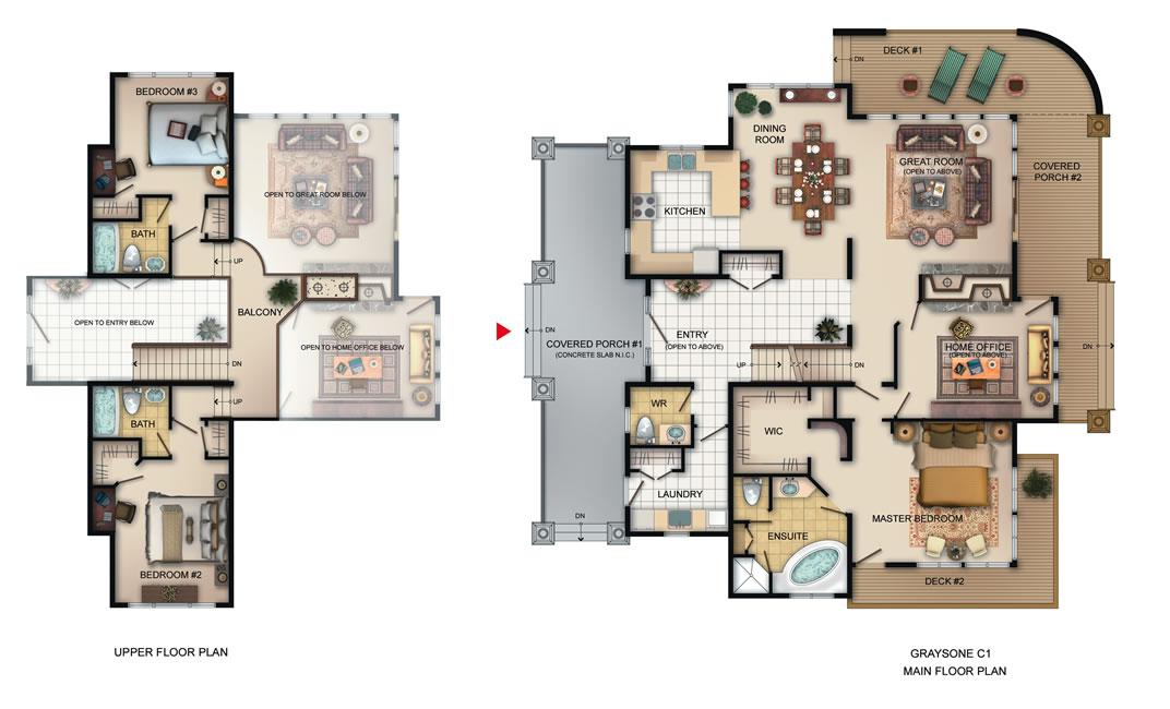 The Graystone Floorplan