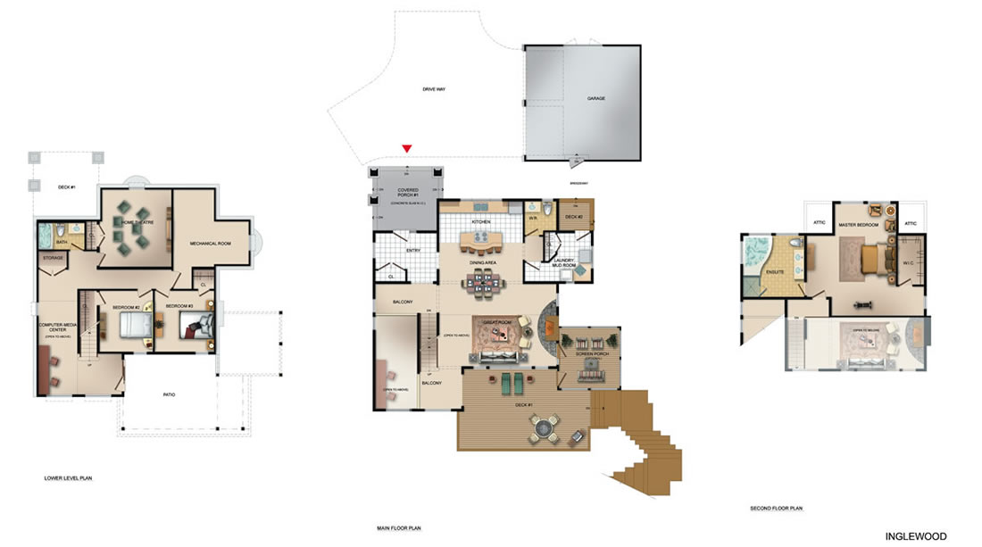 The Inglewood Floorplan