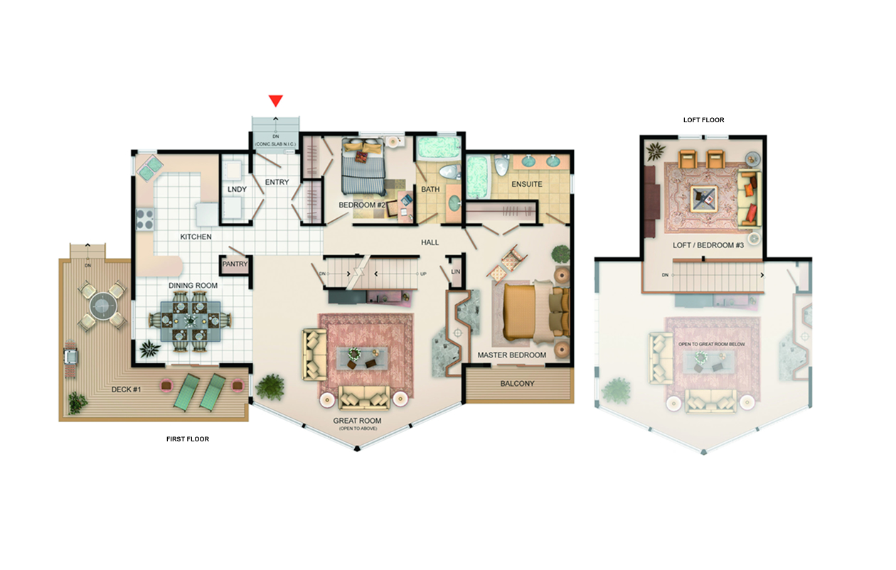 The Invermere Floorplan