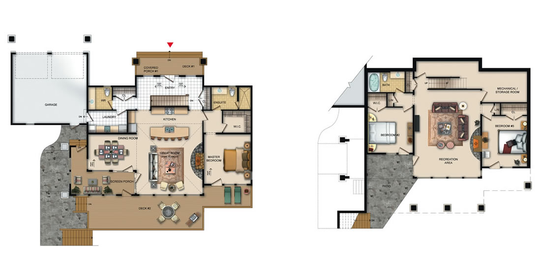 The Oakley Floorplan