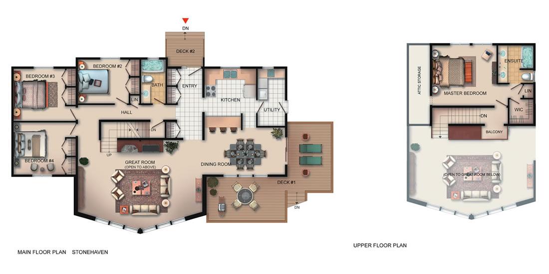 The Stonehaven Floorplan
