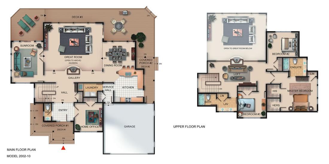 The Westlake Floorplan