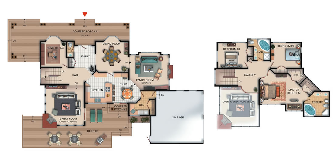 The Westrock Floorplan