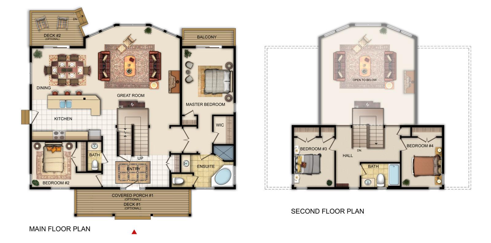 The Seaton Floorplan