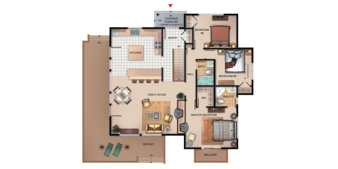 The Belleville Floorplan
