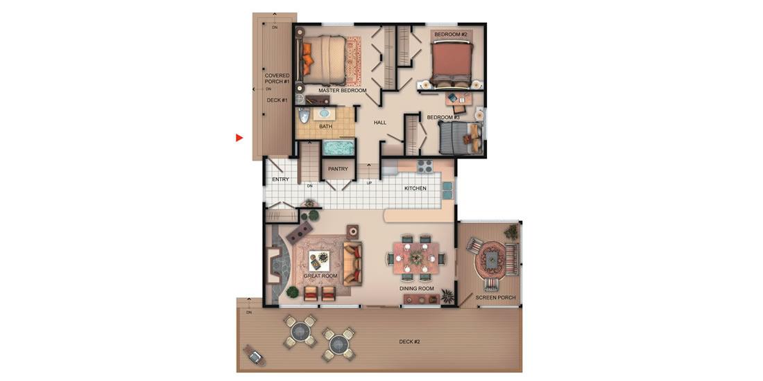 The Belmont Floorplan