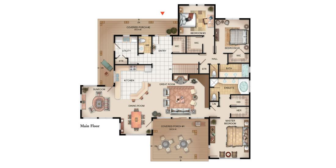 The Bracebridge Floorplan