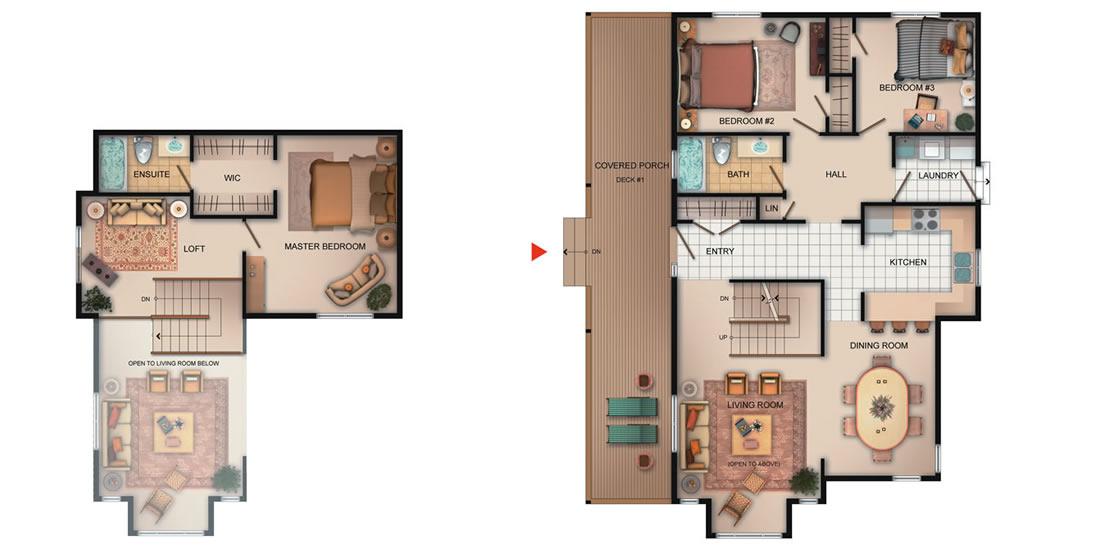 The Kitsilano Floorplan