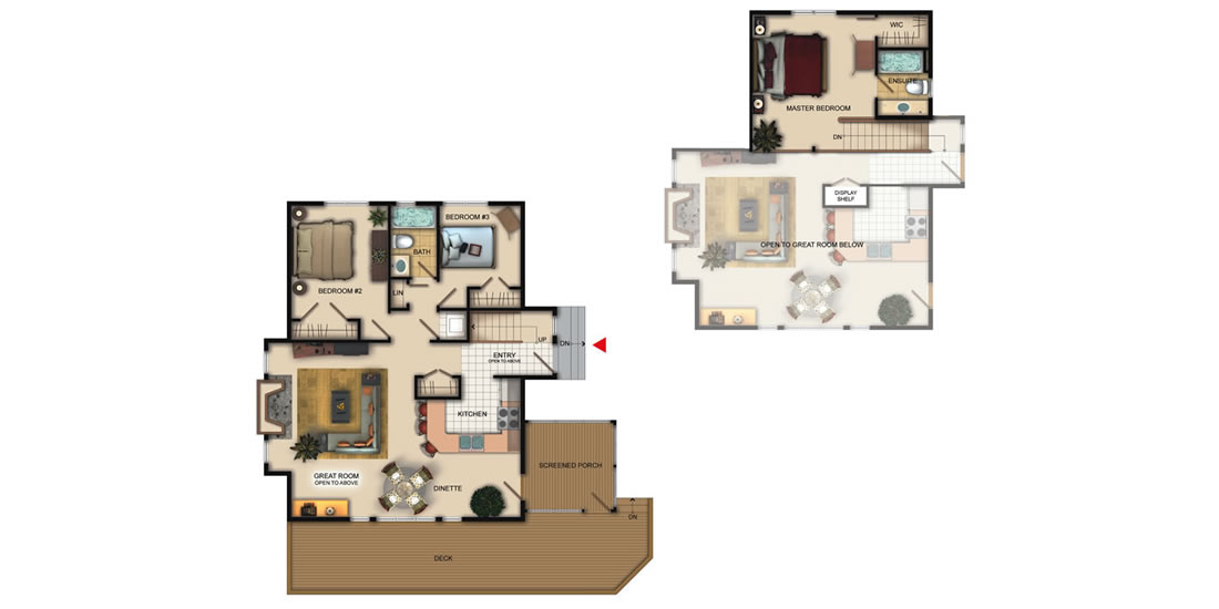 The Maple Grove floor plan